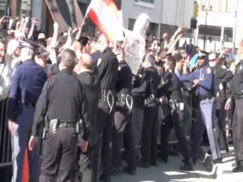 Dearborn Muslims Mob Pastor Terry Jones