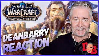 "World Of Warcraft - Battle For Azeroth ""Safe Haven"" Cinematic Trailer REACTION"
