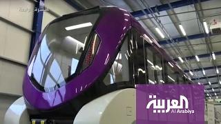 """""""فيديو"""" شاهد الكشف عن  التصاميم الداخلية والخارجية لعربات قطار الرياض"""
