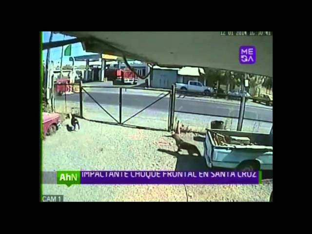 Brutal accidente automovilístico en Santa Cruz Videos De Viajes