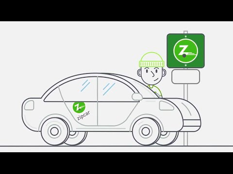 Car Sharing For Errands Adventures Join Zipcar Youtube