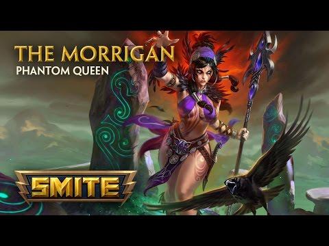 SMITE - God Reveal - The Morrigan, Phantom Queen