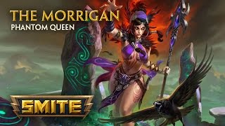 SMITE - God Reveal - The Morrigan, Phantom Queen