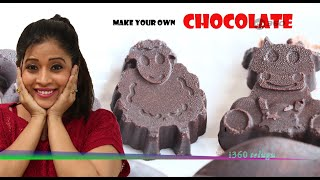 Home Made CHOCOLATES with only 4 Ingredients