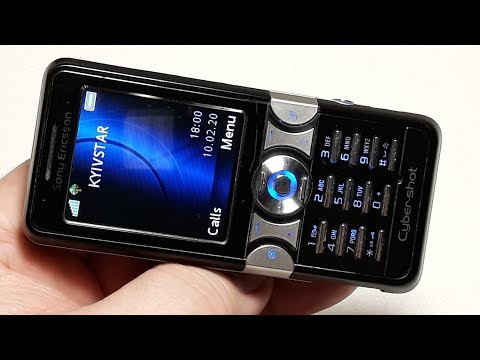 Sony Ericsson K550i Ретро телефон Капсула времени из Германии