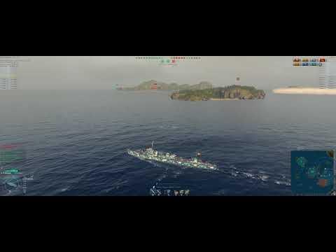 World of Warships Shenyang x7 kills, x2 Liquidator, Double Strike, High Caliber
