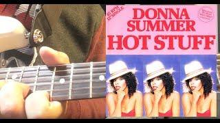 Hot Stuff Funky Rhythm Guitar Lesson Donna Summer