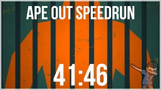 Ape Out Any% Speedrun || 41:46