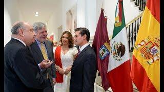 Visita a la Casa de México en España