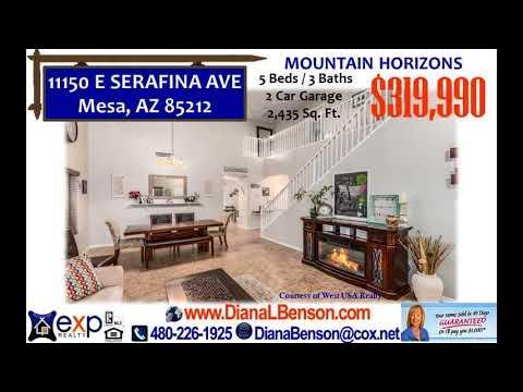 5 Bedroom home for sale Mesa, AZ 85212