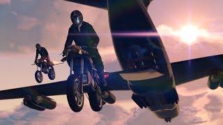 GTA 5| Rocket bike stunts compilation!!!| Gunrunning dlc