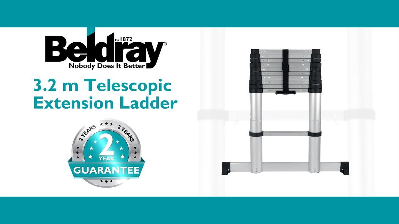 Beldray Telescopic Ladder Youtube