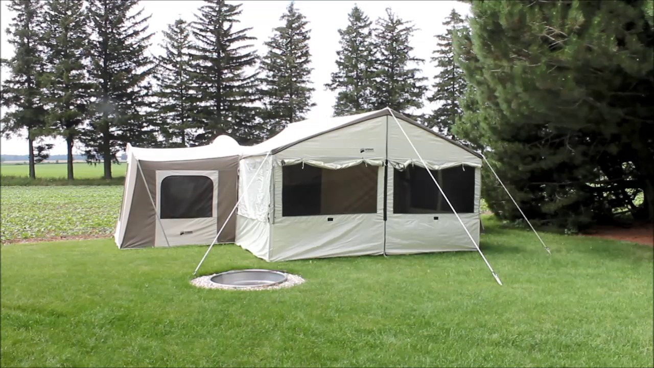 Beau Kodiak Grand Cabin Canvas Tent