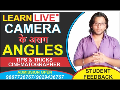 Best Cinematography | Lighting | Film Making at Mumbai Film Academy | Ajay Tandon(FTII)