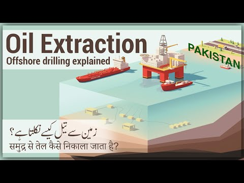 How Oil is Extracted | How Oil Drilling works [Urdu/Hindi]