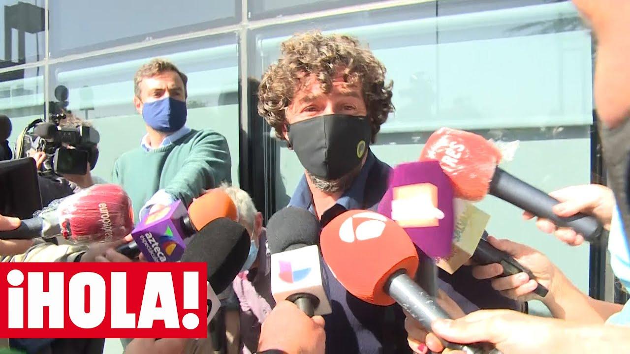 Nacho Palau y Miguel Bosé se encuentran en el juicio que les enfrenta por sus hijos