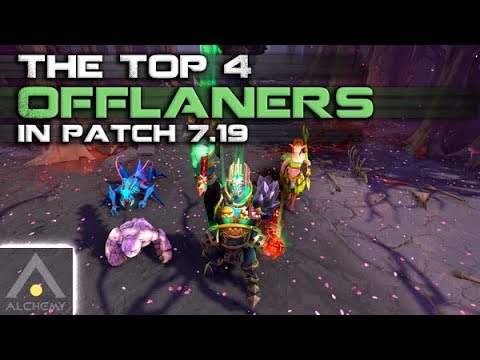 The Best 4 Offlaners In Patch 7 19 Pro Dota 2 Guides Youtube