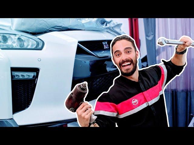 Un día de Mecanico Automotriz (Servicio a GODZILLA) 😱 Nissan GTR