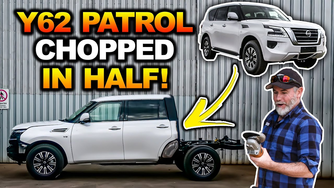 Download GRAHAM's Y62 Patrol Build! You've NEVER seen a chopped 4WD like this! Full build plans revealed!