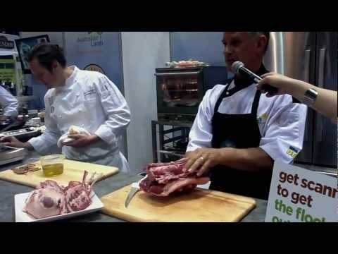 Australian Lamb Butchery & Cooking Demo