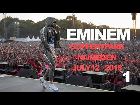 Eminem LIVE Goffertpark, Nijmegen FULL SHOW (almost) PART I