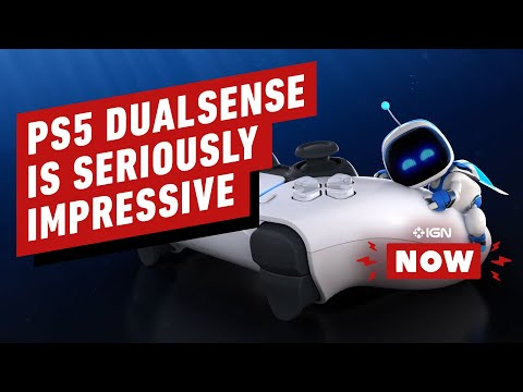 PS5's New DualSense Haptics Are Seriously Impressive - IGN Now