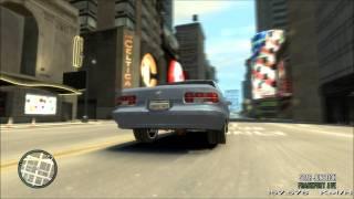 Gta iv - crash in slow motion