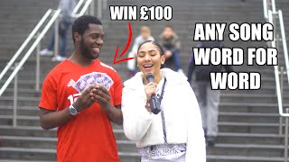 Sing Any Song Word For Word To Win £100 - Part 5