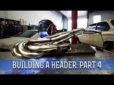 Retro Header Build-Off Part 4: Final Header Welding
