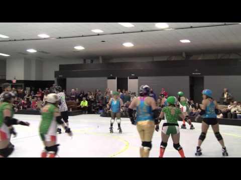 Women's Roller Derby:  Muertas Locas vs Hickory Street Hooligans - Season Opener 1/26/2013