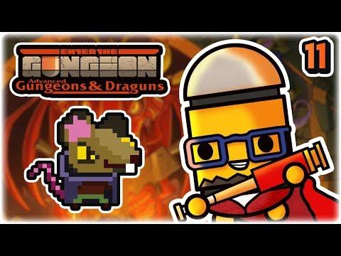 Resourceful Rat Boss | Part 11 | Let's Play: Enter the Gungeon Advanced Gungeons and Draguns | AG&D