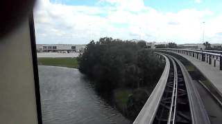 Orlando International Airport Tram To the United Gates