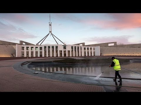 Behind the scenes of Parliament House, Canberra