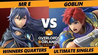 Overlords SSBU - DEM | Mr E (Lucina) Vs APE | Goblin (Roy) Smash Ultimate Winners Quarters