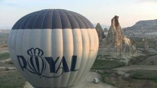 Ballooning with Royal Balloon in Cappadocia Turkey 110330.mp4