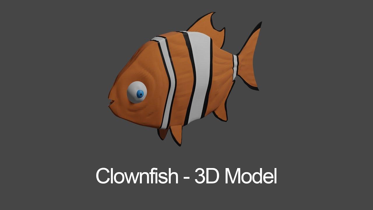 Clownfish - 3D Model