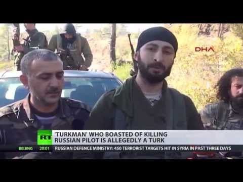 'Turkmen' who boasted of killing Russian pilot is allegedly Turk nationalist