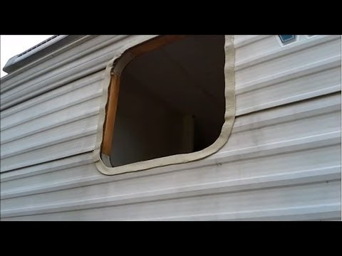 How To Reseal A Travel Trailer Camper Or Rv Window Youtube
