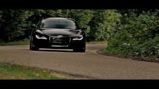 Audi R8 V8 - Video Shoot - 221km/h Ride, Accelerations, Revs and more! - 1080p HD