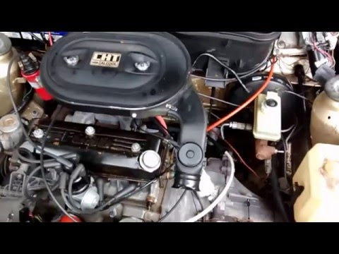 Engine Start | CHT 1.6L - Ford Escort GL 1988