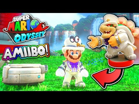 Download Youtube: SUPER MARIO ODYSSEY - Using SPECIAL Amiibos!
