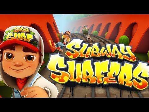 Subway Surfers -Trò chơi chạy trốn-Nhảy tàu trốn thoát – Video game 2