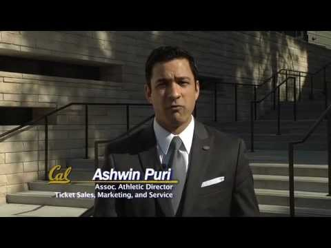 Cal Athletics: Associate Athletic Director for Ticket Sales Ashwin Puri