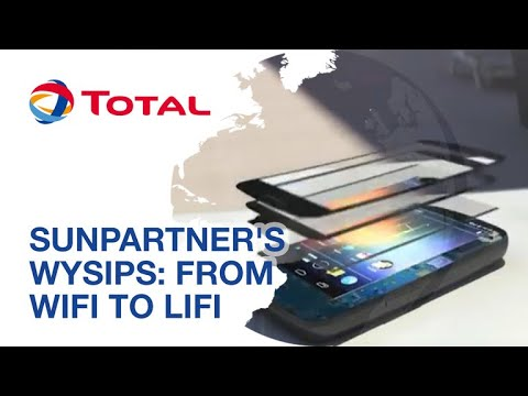 Sunpartner's Wysips Technology: from WiFi to LiFi | Sustaina