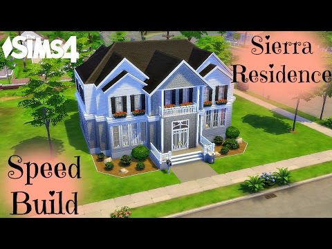 The Sims 4: Speed Build: Sierra Residence