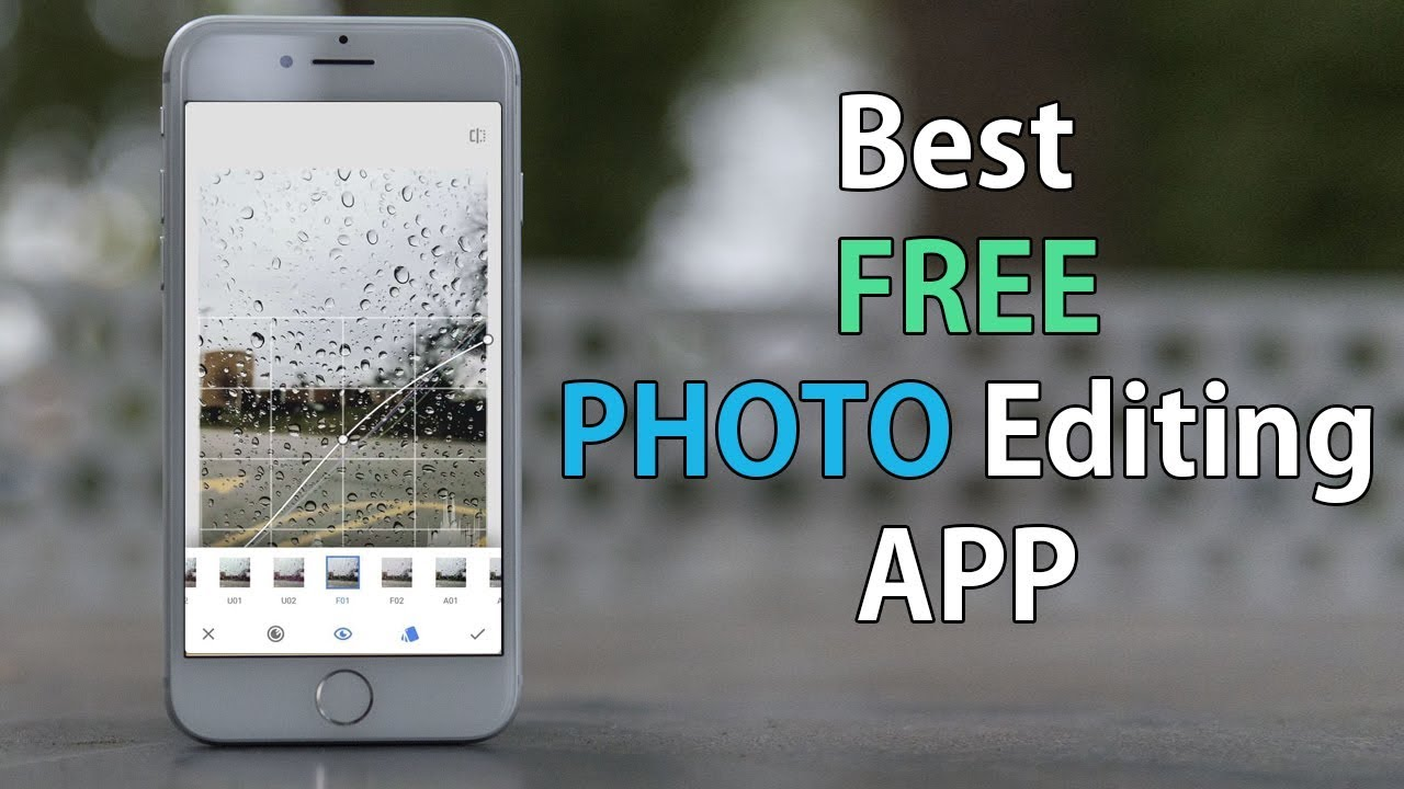 Best FREE iPhone Photo Editing Apps (2019) - Snapseed Full Tutorial
