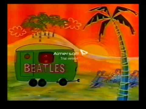 The Beatles Cartoon 1960s: The Portable Hotel Room