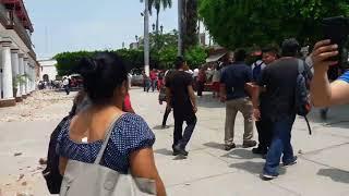 Momento exacto de el Temblor en #Cuautla Morelos de 7.1 (MEVO Films)