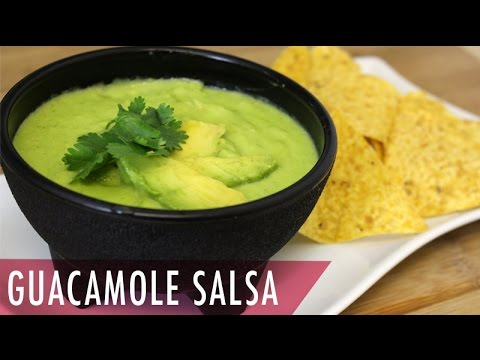How to make guacamole easy with salsa for nacho
