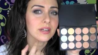 Blush Professional 15 & 10 Concealer Palette Review With Swatches Thumbnail
